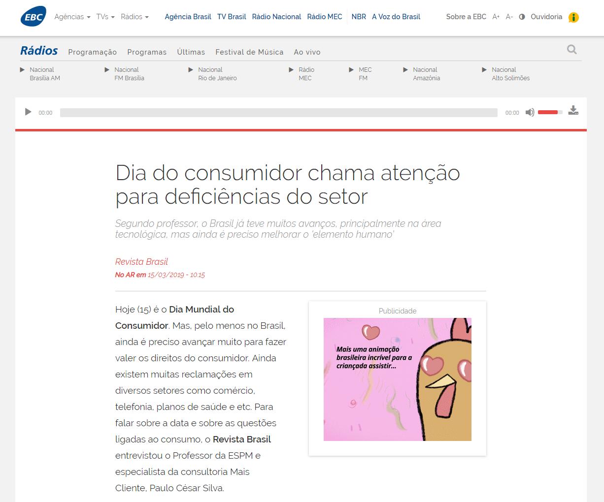 Agência Brasil: Dia do consumidor chama atenção para deficiências do setor