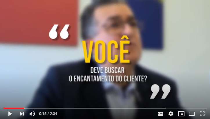 Encantamento do cliente
