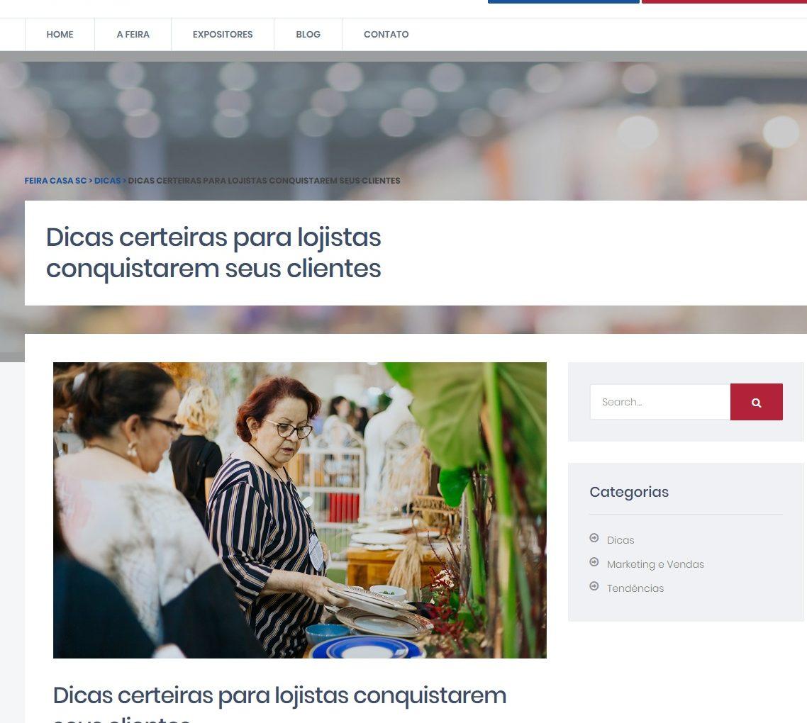 SITE FEIRA CASA SC: Dicas certeiras para lojistas conquistarem seus clientes